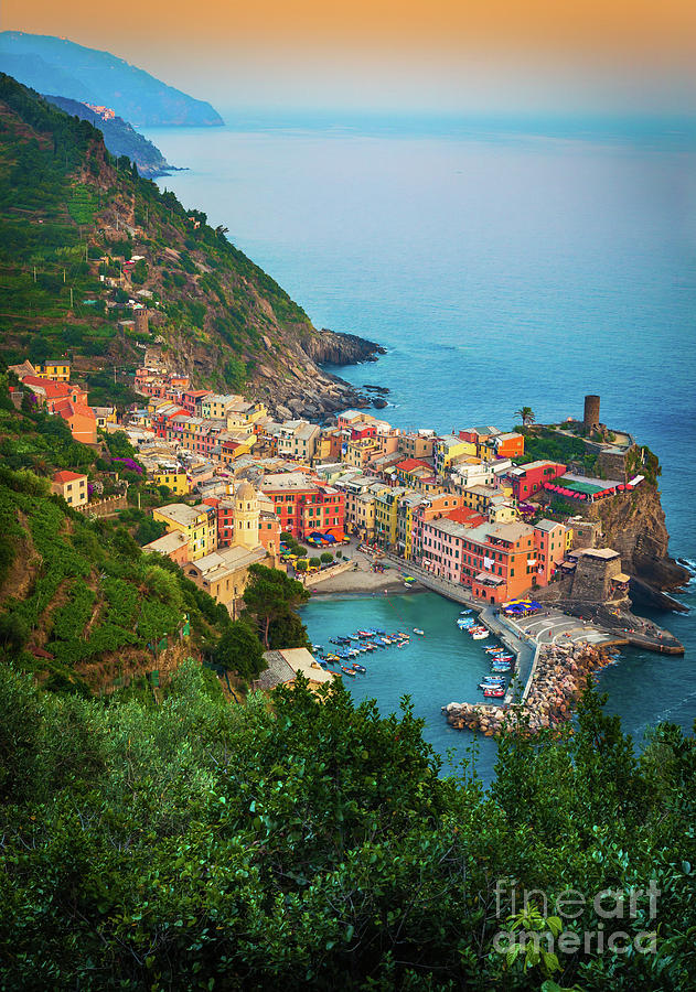 Vernazza From Above Photograph