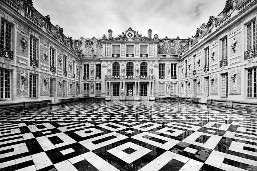 Versailles architecture paris photograph by pierre leclerc for Architecture a paris