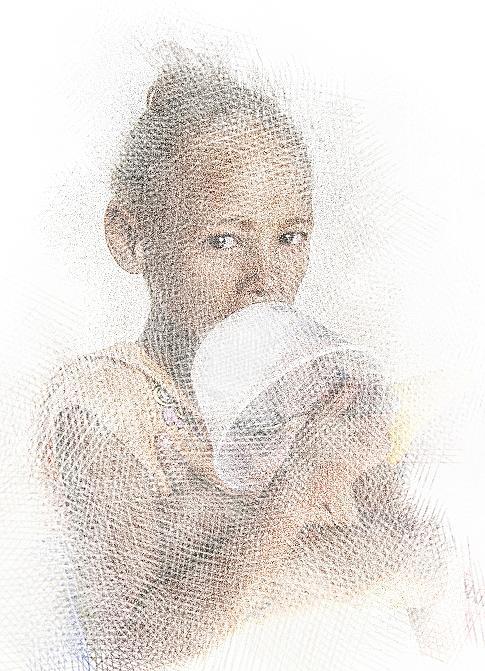 Digital Art - Very Hungry by Jan Hattingh