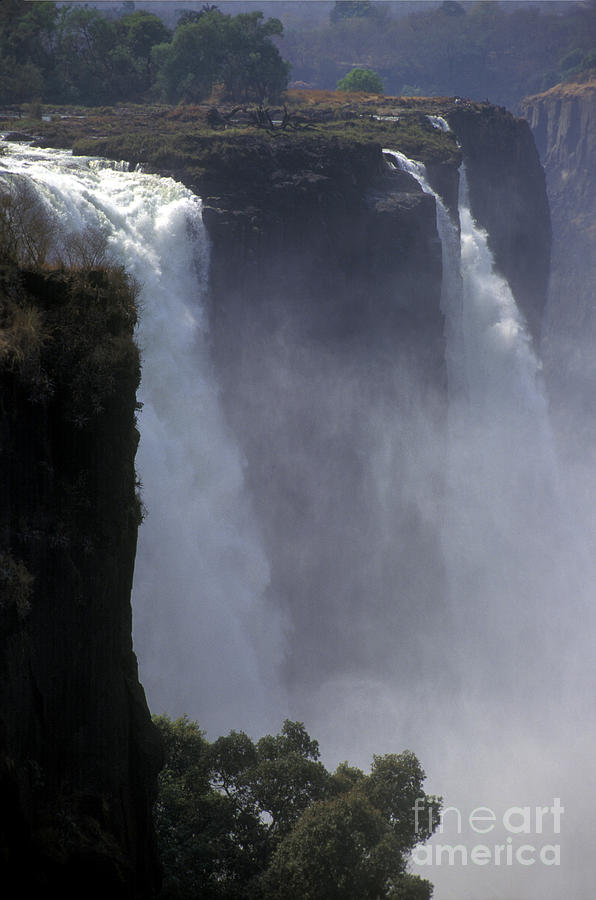 Africa Photograph - Victoria Falls - Zimbabwe by Craig Lovell