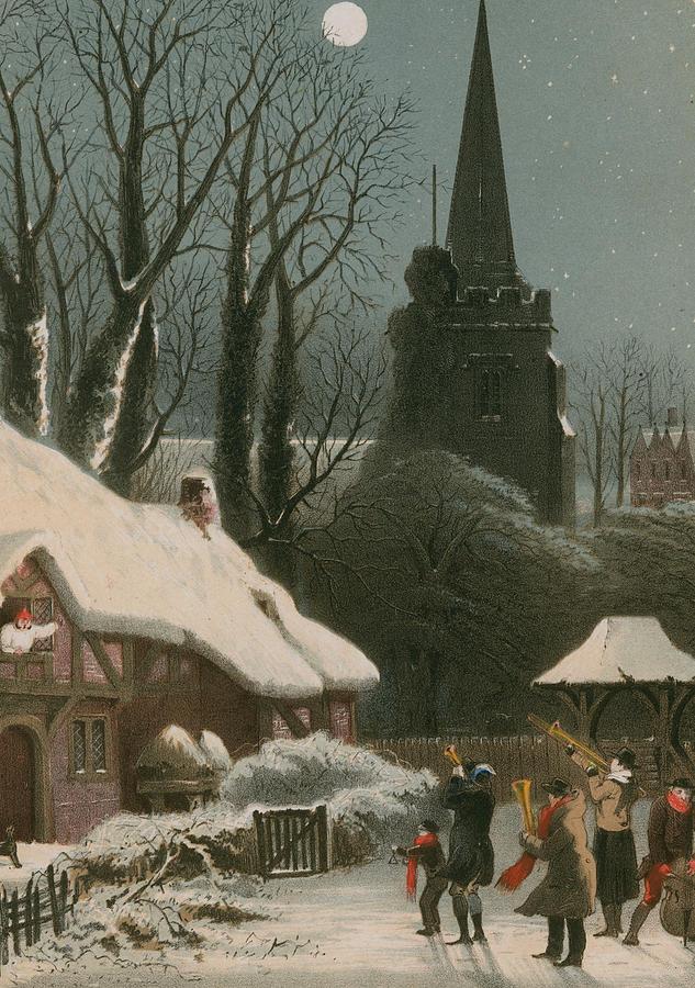 victorian christmas scenes - photo #20