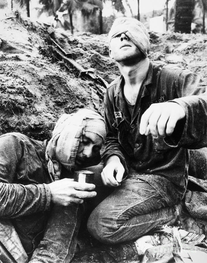 1966 Photograph - Vietnam War Medic 1966 by Granger