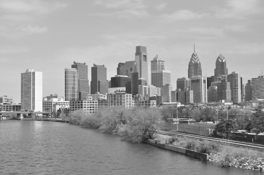 Philly Photograph - View From The New S.st. Bridge by Brynn Ditsche