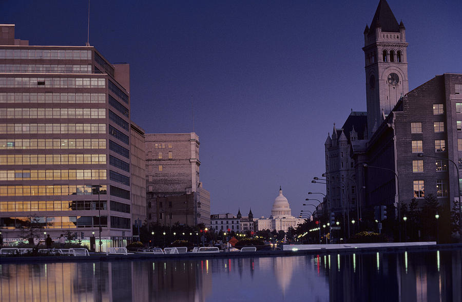 Capitol Building Photograph - View Of The Capitol Building by Kenneth Garrett
