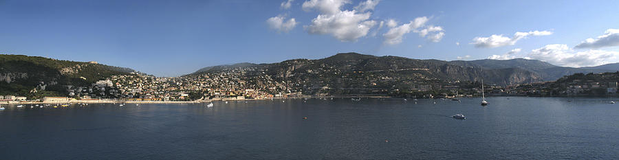 Villefranche Photograph - Villefranche  by Terence Davis