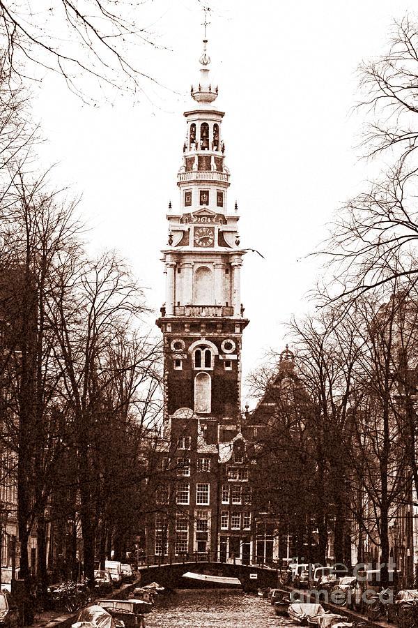 Vintage Amsterdam Photograph - Vintage Amsterdam by John Rizzuto