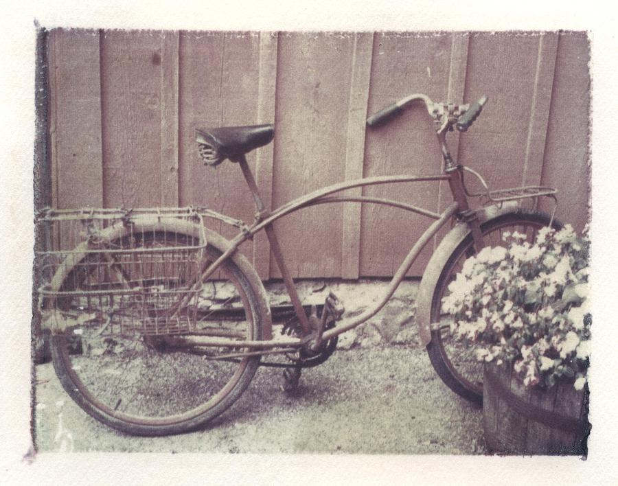 Bike Photograph - Vintage Bicycle by Jane Linders