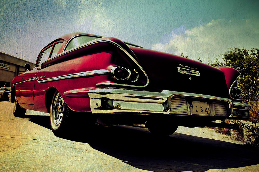 Vintage Chevy Photograph