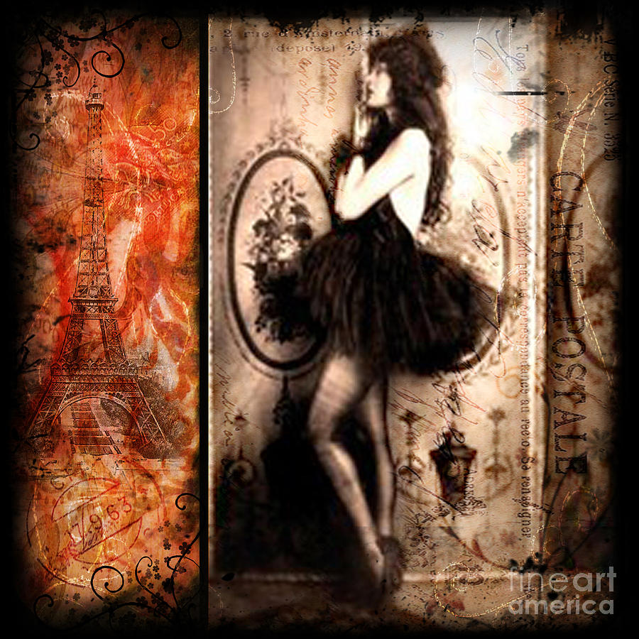 Vintage Collage 12 Photograph By Angelina Cornidez
