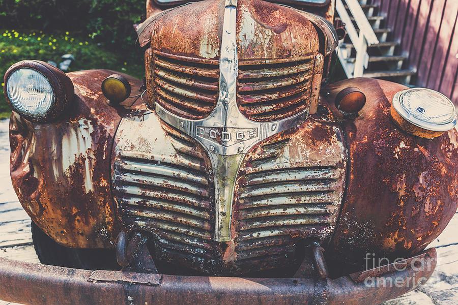 Vintage Dodge Truck Photograph
