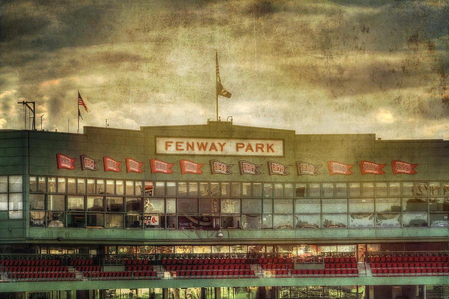 Vintage Fenway Park Boston Photograph By Joann Vitali