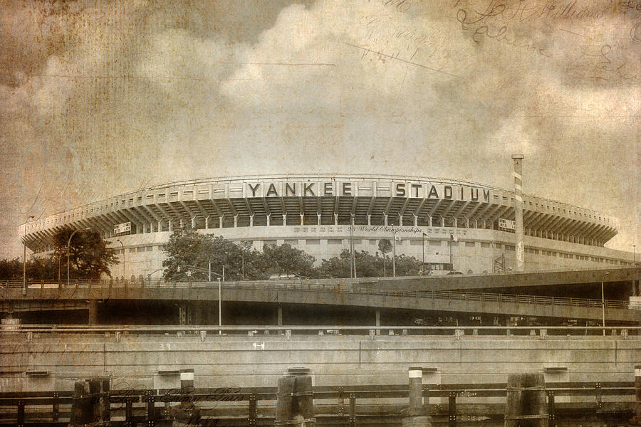 Vintage Old Yankee Stadium Photograph By Joann Vitali