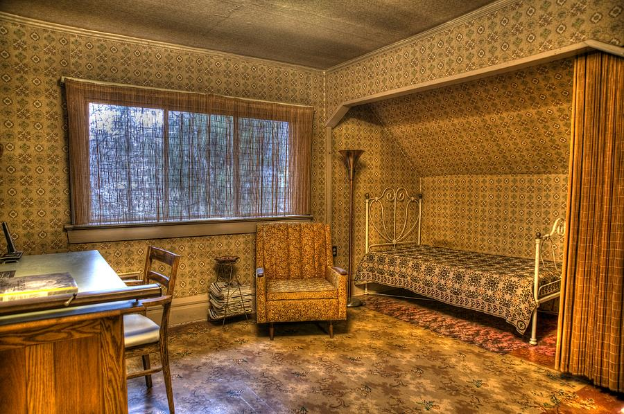 History Photograph - Vintage Room by Jason Evans