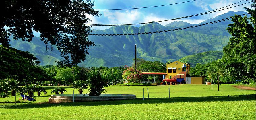Campamento Photograph - Vista Del Ferrocalejo En Rincon Grande by Bibi Romer