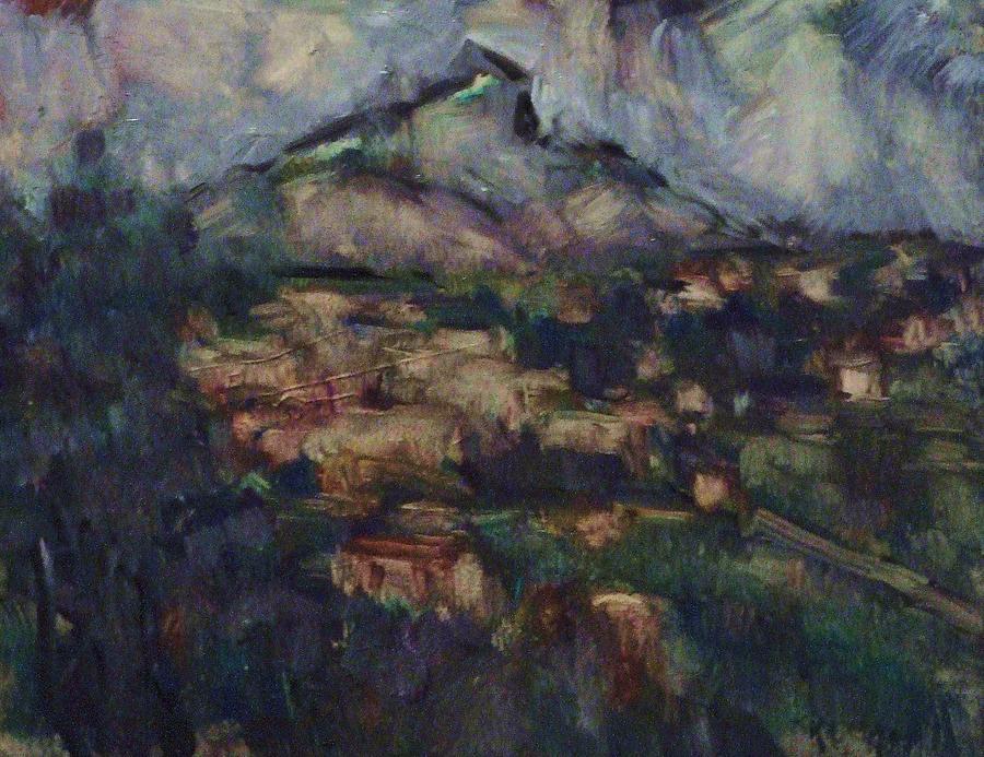 Vue de la rhune et bidart painting by jean pierre harixcalde for A portee de vue bidart