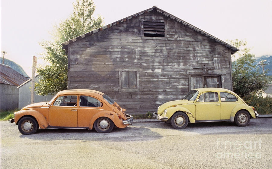 Vw Photograph - Vws In Skagway Alaska by Bruce Stanfield
