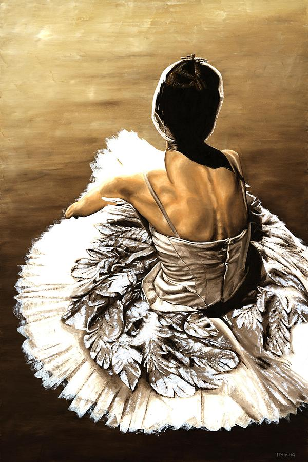 Waiting In The Wings Painting