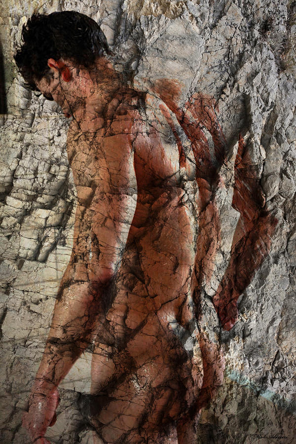 Male Nude Photos  Photograph - Waiting  To The One  by Mark Ashkenazi