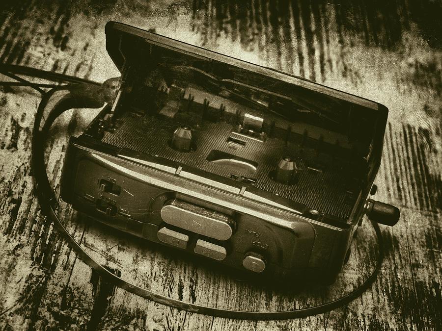 Walkman Photograph - Walkman by Wim Lanclus