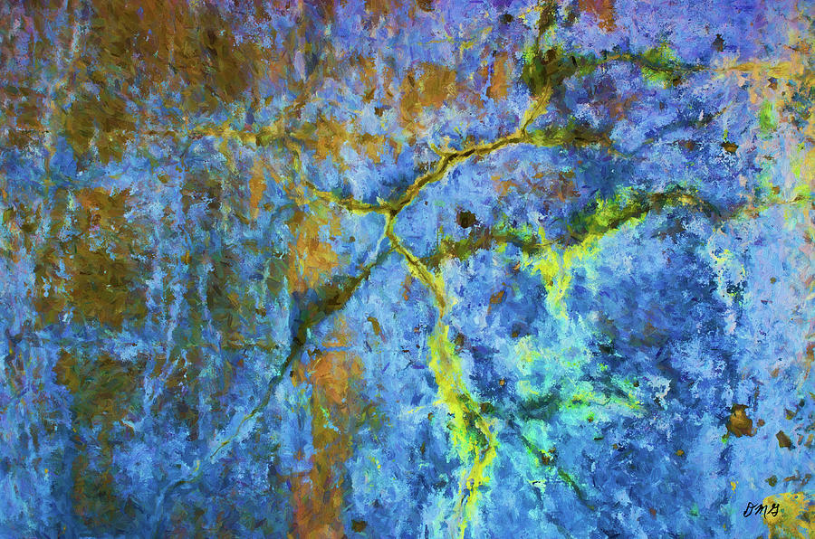Wall Photograph - Wall Abstraction I by Dave Gordon