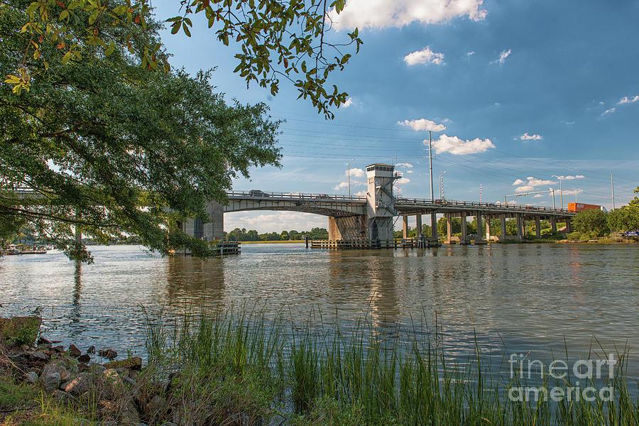 Wappoo Creek Bridge In Charleston Sc Photograph