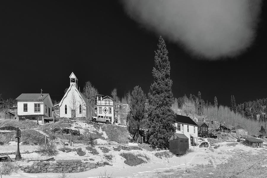 Ward Colorado Monochrome Photograph