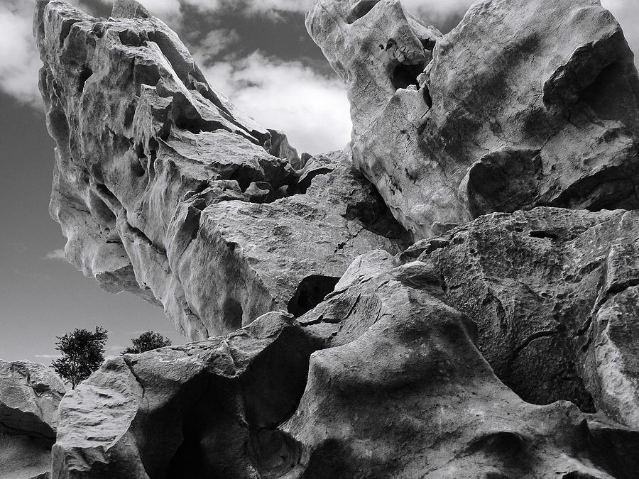 Rocks Photograph - Ward Off Evil Spirits by Christine Till