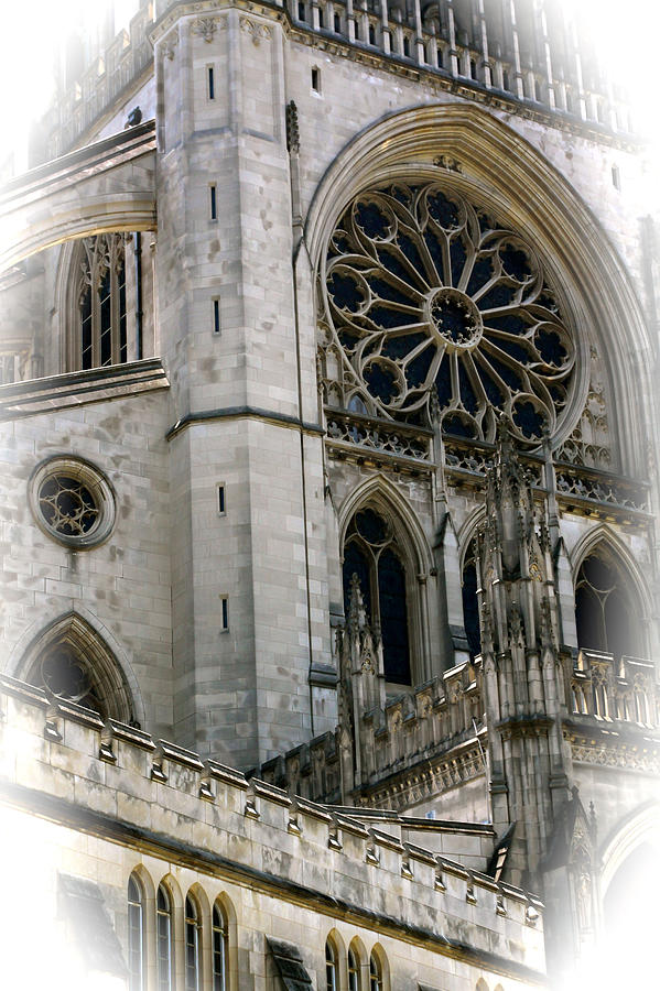 Photograph - Washington Cathedral by Charlie Parker