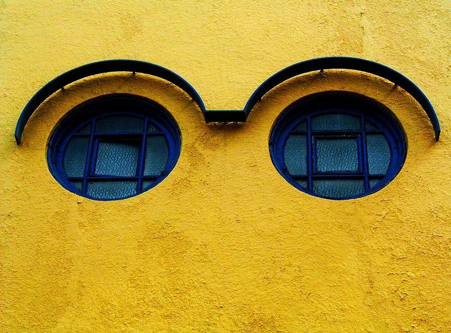 Wall Photograph - Watching You ... by Juergen Weiss