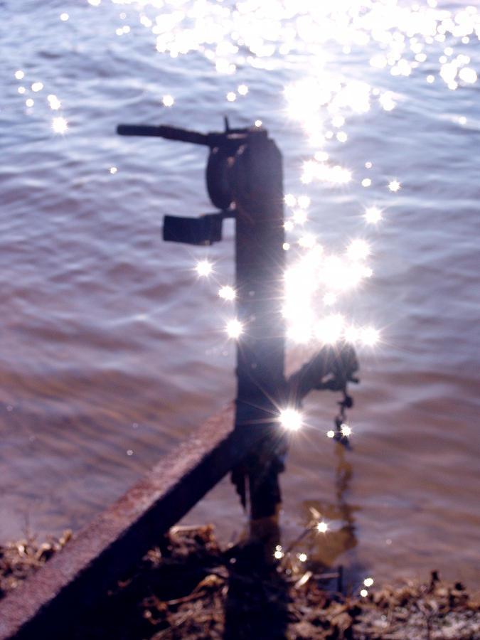 Boat Trailer Photograph - Water Magic by Kevin Callahan
