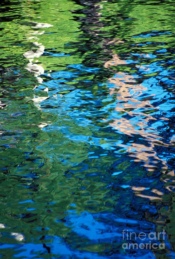 Abstract Photograph - Water Reflections by Bill Brennan - Printscapes