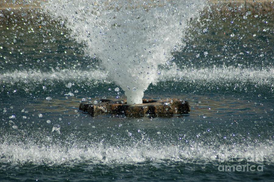 Water Spout Photograph