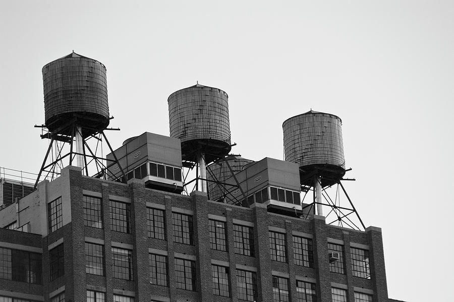 Water Towers Photograph