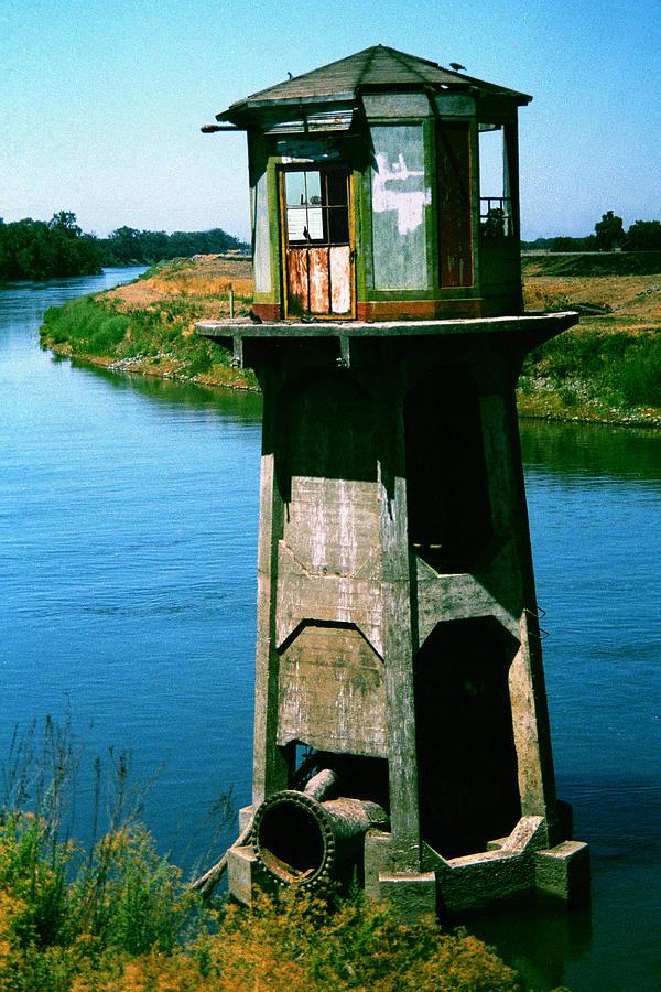 Water Treatment Photograph - Water Treatment by Peter Piatt