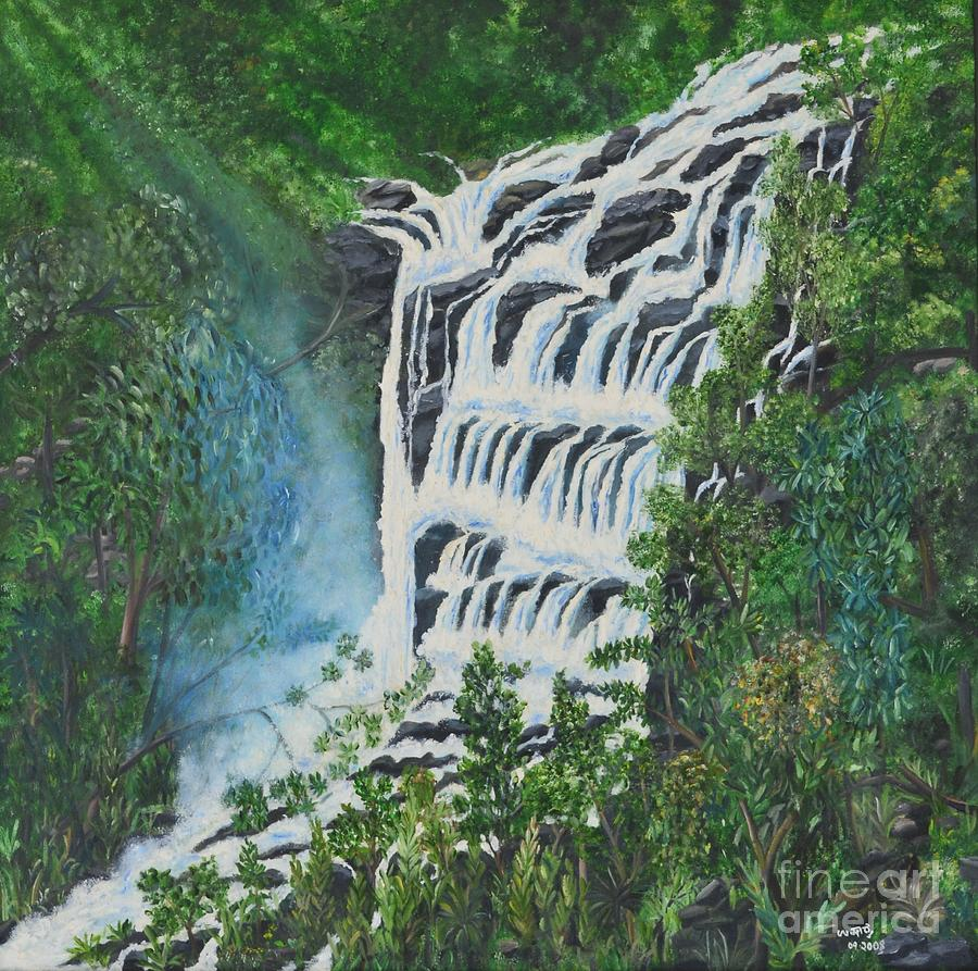 Waterscape Painting - Water by Usha Rai