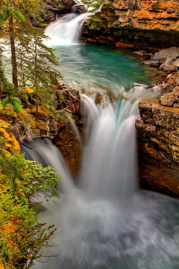 Waterfall Photograph - Waterfall Canyon by Scott Mahon