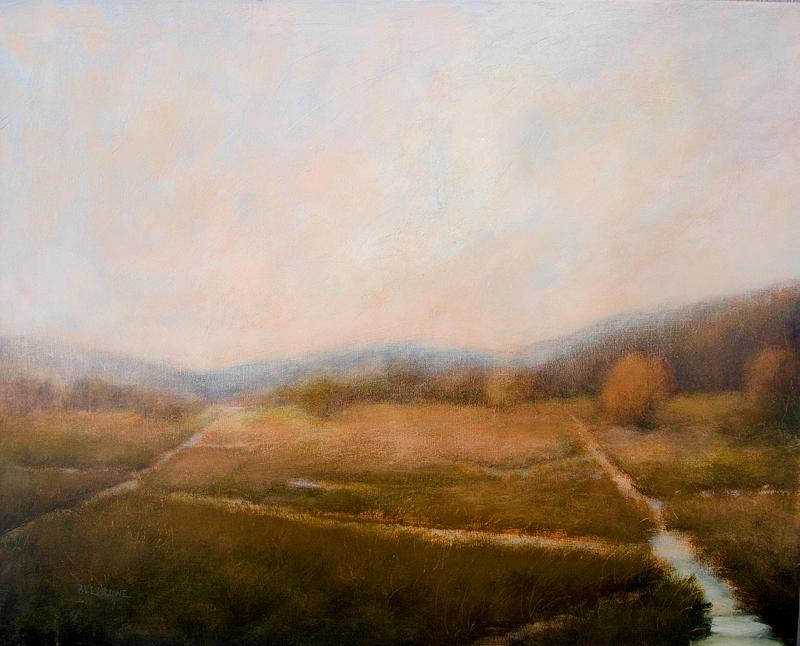 Landscape Painting - Waterways by Jan Blencowe