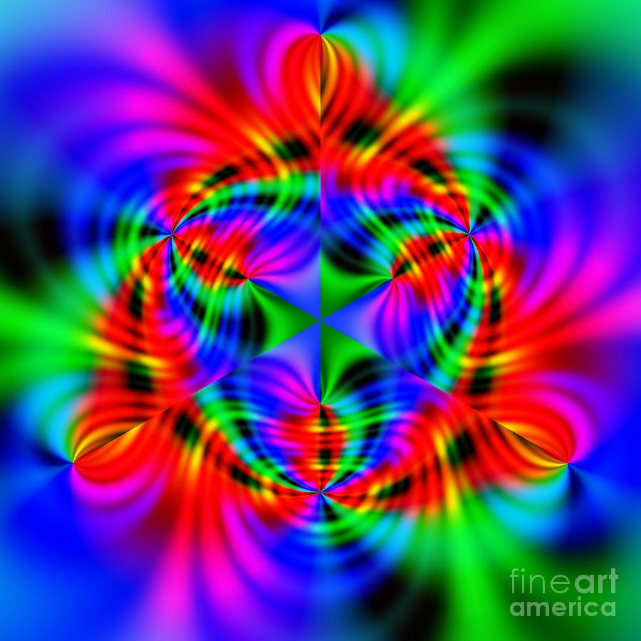 Digital Art Digital Art - Wave 010a by Rolf Bertram