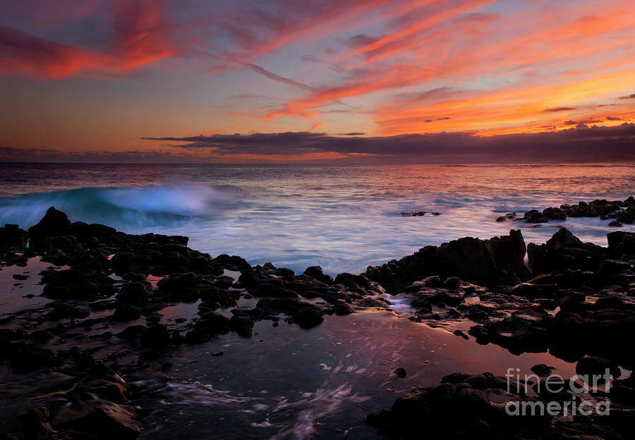Kauai Photograph - Waves Of Paradise by Mike  Dawson