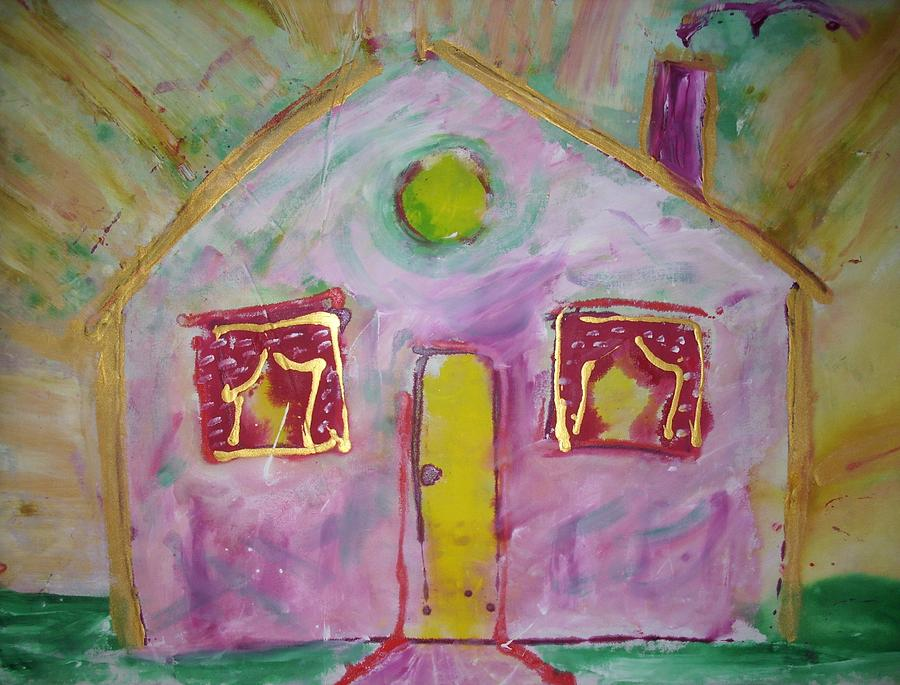 Home Painting - Welcome Home by Ruth Beckel