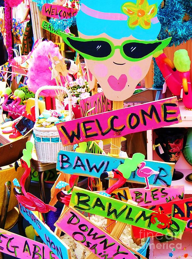 Baltimore Photograph - Welcome Hon by Debbi Granruth