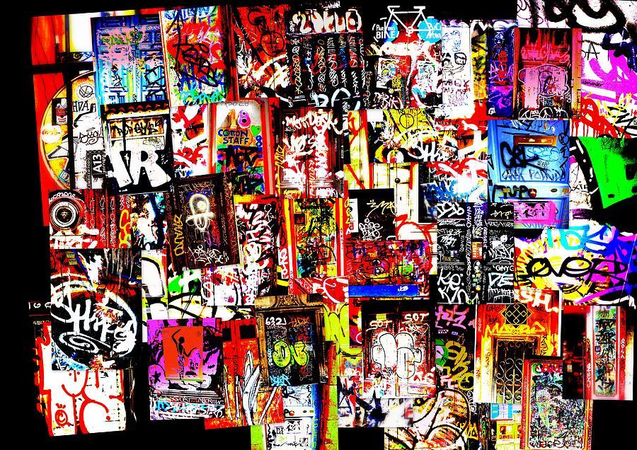 Welcome To Barcelona Graffiti Nirvana Photograph