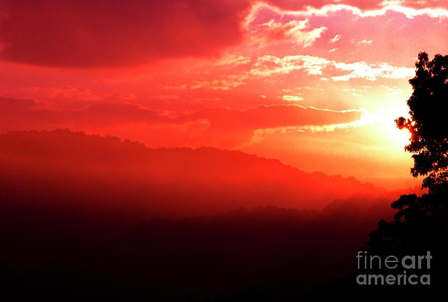 West Virginia Photograph - West Virginia Sunrise by Thomas R Fletcher