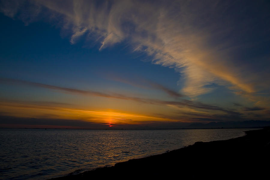 Sunset Photograph - Westcoast Sunset by Naman Imagery