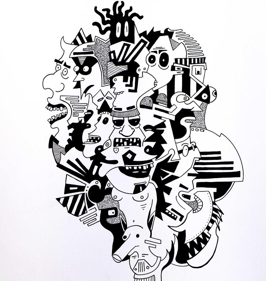 what are you focused on drawing by eric hagan