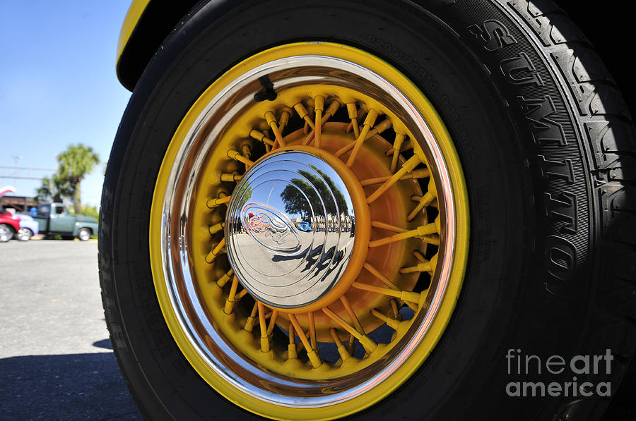 Ford Photograph - Wheel Nice by David Lee Thompson