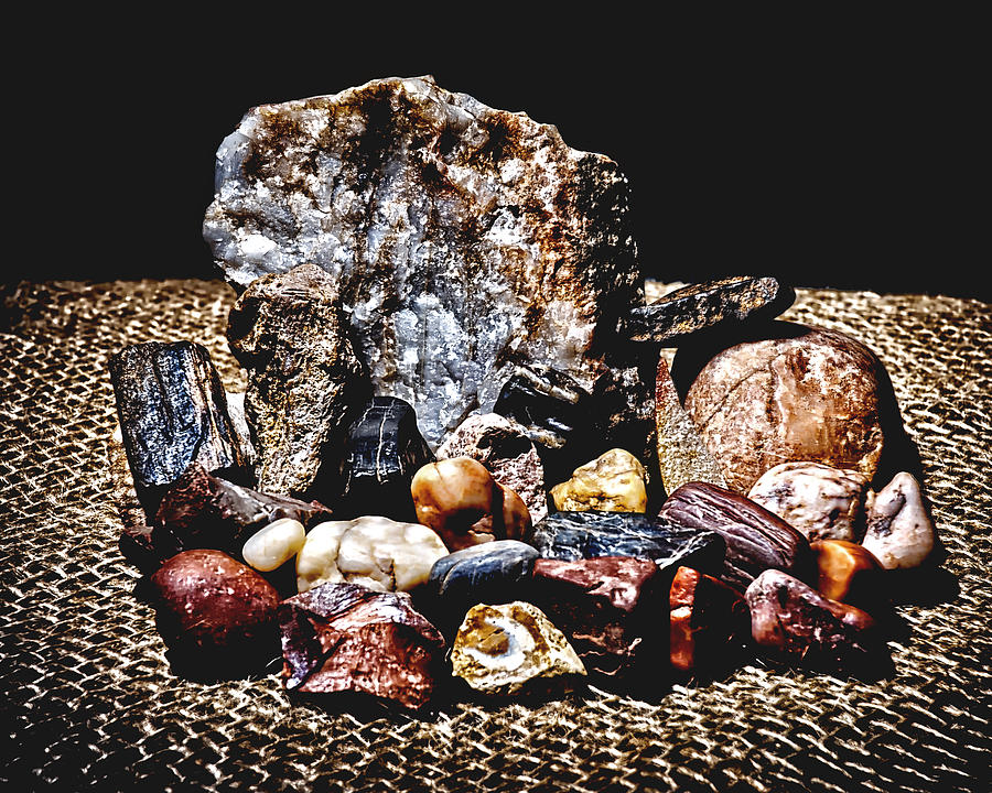 When Life Gives You Rocks Photograph