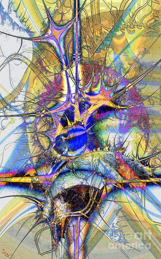 When Stars Collide Digital Art