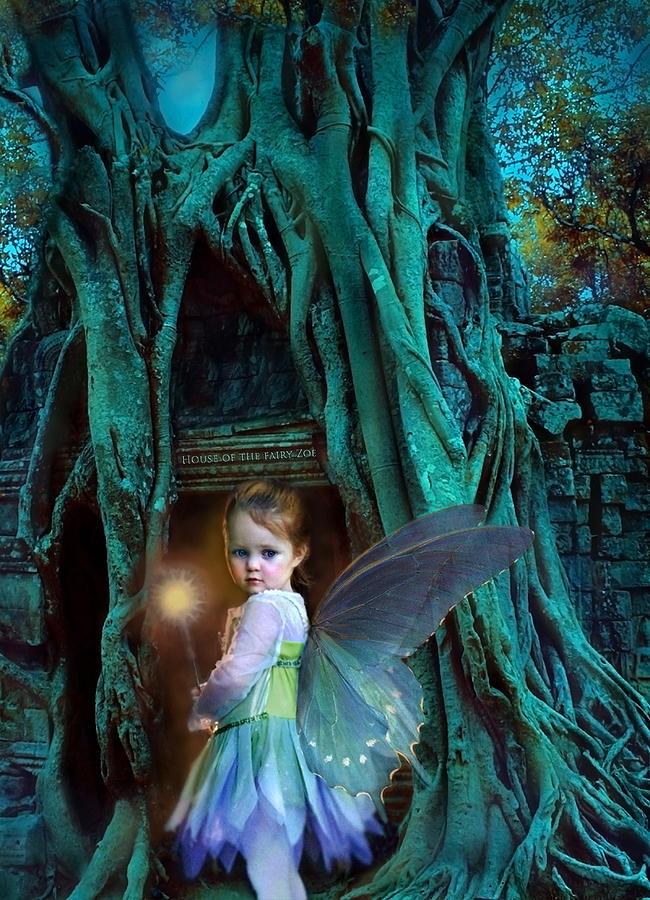 Fairy Digital Art - When Twilight Fades by Jean Hildebrant