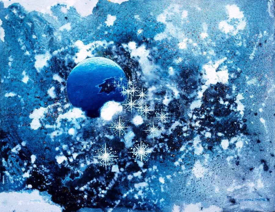 Spiritual Painting - Where Stars Are Born by Lee Pantas